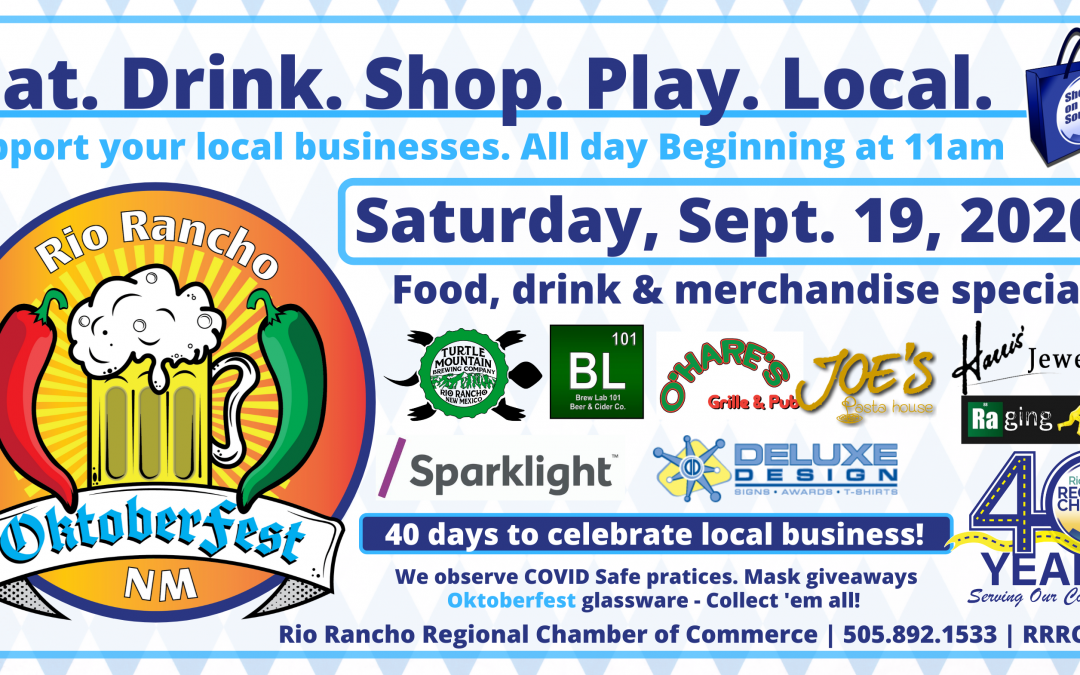 Rio Rancho Oktoberfest – 40 days to celebrate local business