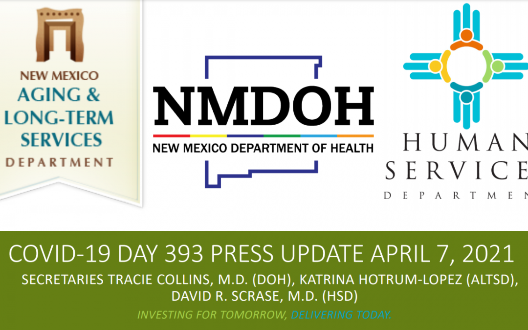 Latest update from the NMDOH Newsroom