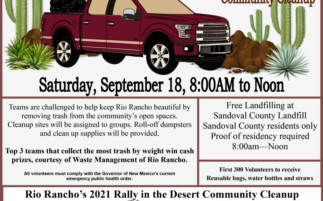 Mayor Hull's Rally in the Desert – Community Cleanup