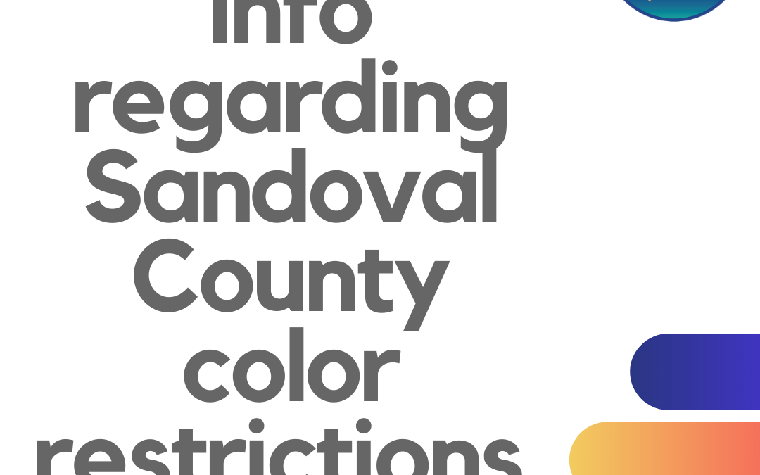 The newest map is out and Sandoval County, Bernalillo County, and Santa Fe County are among 14 counties in the YELLOW!