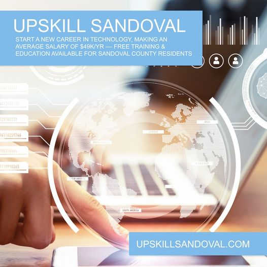 Upskill Sandoval – Take the path to high paying jobs