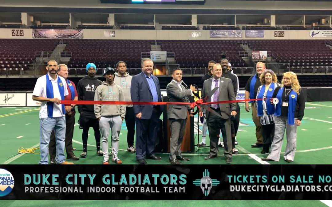Gladiators Indoor Football Team Playing 3 games in Rio Rancho
