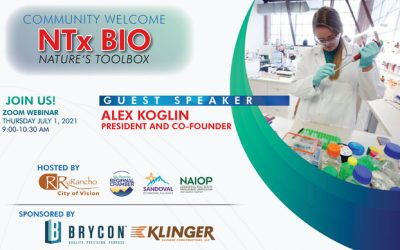 Community Welcome! NTx BIO (Nature's Toolbox)
