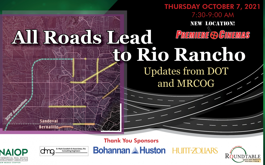 All Roads Lead to Rio Rancho – Updates from DOT and MRCOG